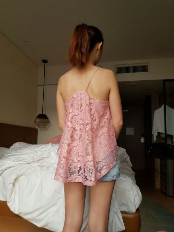 Back view of my top from Love, Bonito!